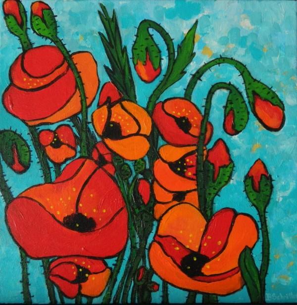 Poppies 1 by Bonnie Schnitter