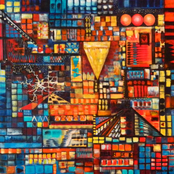 City Life by Bonnie Schnitter