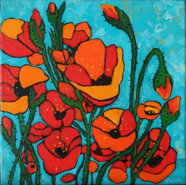 Poppies 2 by Bonnie Schnitter