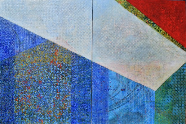 Tipping Point Diptych by Gwen Meharg
