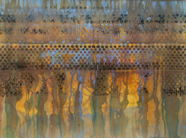 "Chosen  22 x 30"" framed by Gwen Meharg"