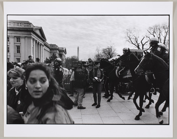 Anti-War Protest, Washington D.C. by Matthew Septimus