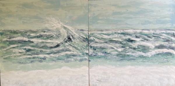 Sea of Whispering Waves by Shima Shanti