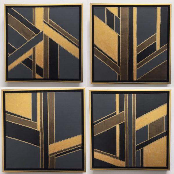 Art Deco Set by Kristen Hagan