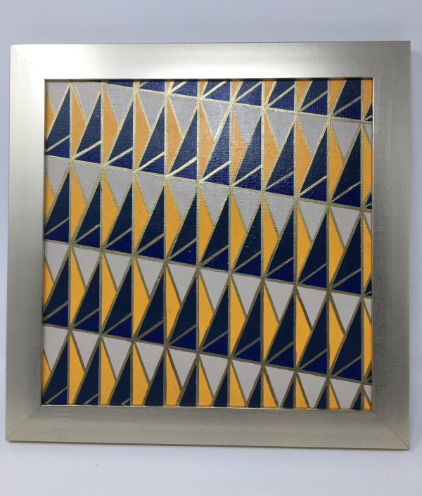 Patterns of Yellow and Blue by Kristen Hagan