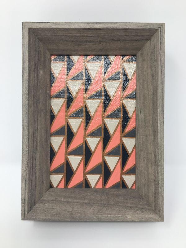 Modern palette and pattern by Kristen Hagan
