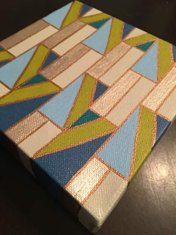 Building blocks by Kristen Hagan