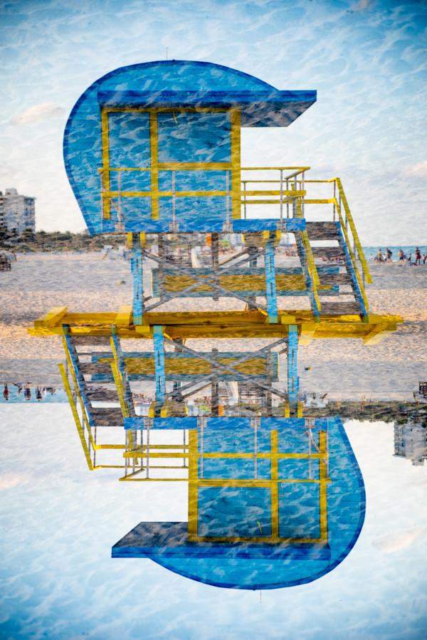 Miami Beachguard #9 by Robin Vandenabeele