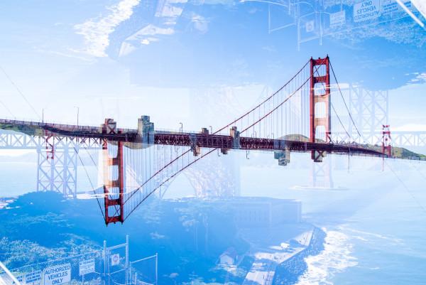 Golden Gate #4 by Robin Vandenabeele