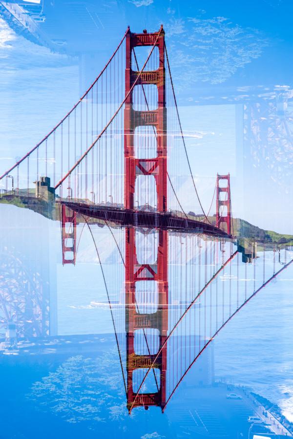 Golden Gate #5 by Robin Vandenabeele