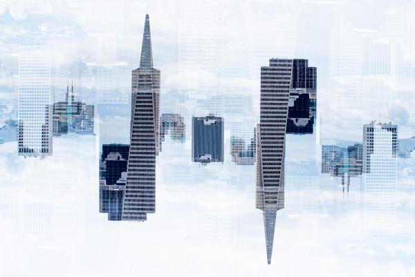 SF Skyline by Robin Vandenabeele