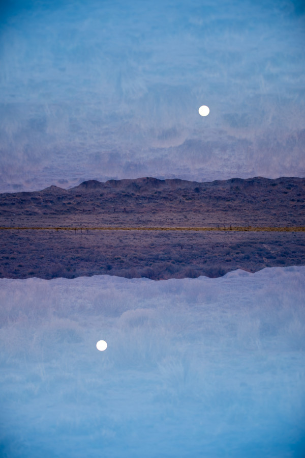 New Mexico Moonscape #1 by Robin Vandenabeele