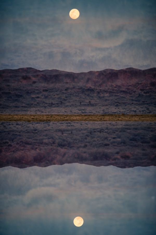New Mexico Moonscape #2 by Robin Vandenabeele
