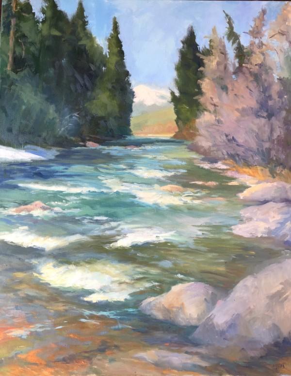 和平,像艾米埃文斯的河流一样
