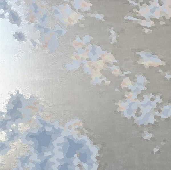 伊莱恩·库姆斯(Elaine Coombs)的《珠光宝气》(Cloud Sparkle 1)