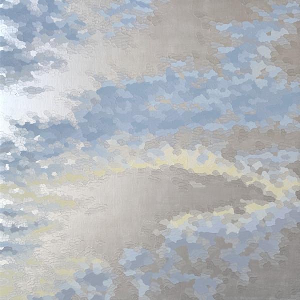 伊莱恩·库姆斯(Elaine Coombs)的《珠光宝气》(Cloud Sparkle 3)
