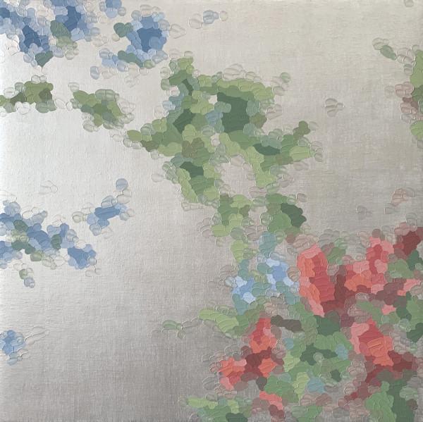 伊莱恩·库姆斯(Elaine Coombs)设计的花朵闪耀(珍珠)
