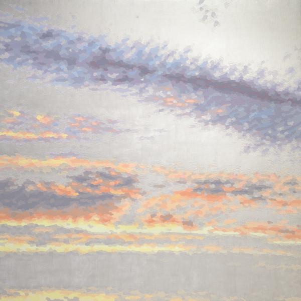 伊莱恩·库姆斯(Elaine Coombs)的《Into a Sorbet Sky (pearl)》