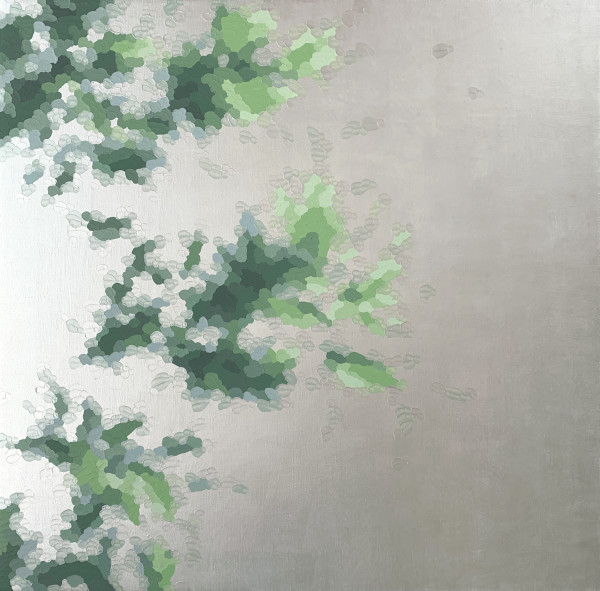 伊莱恩·库姆斯(Elaine Coombs)的Leaf Sparkle 1(珍珠)
