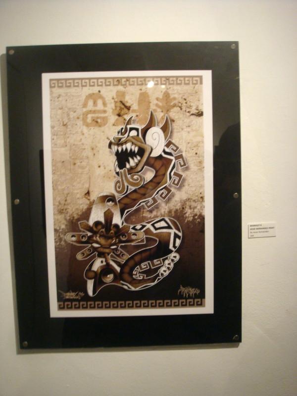 Aztec Minigod by Marka27 Jesse Hernandez
