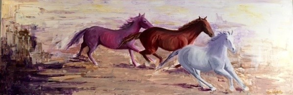 Charge at Dusk by Lisa Libretto