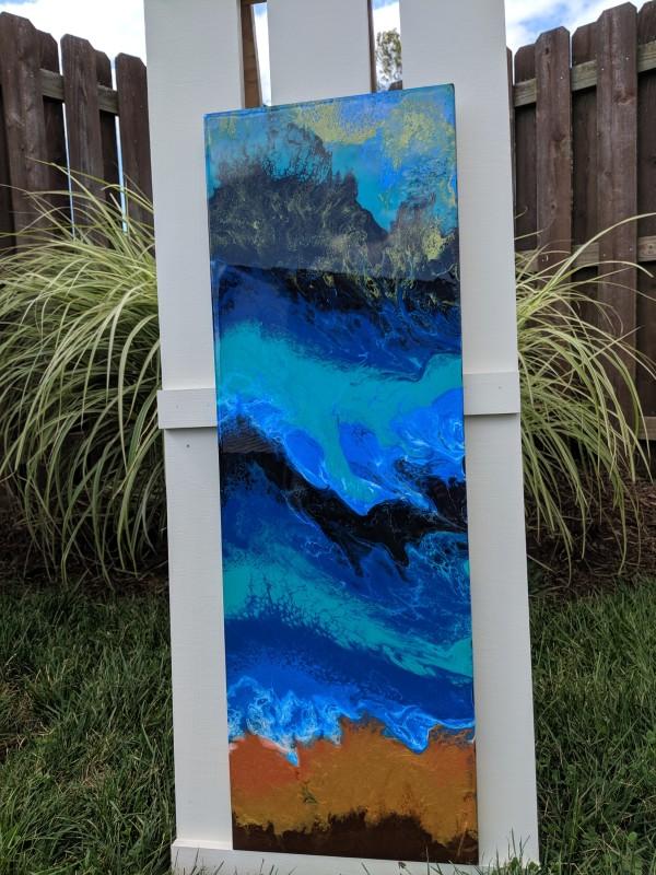 Waves on the Beach by Lisa Heintzman