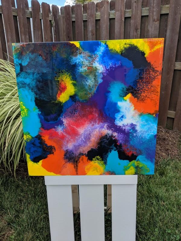 Flowing Ola by Lisa Heintzman