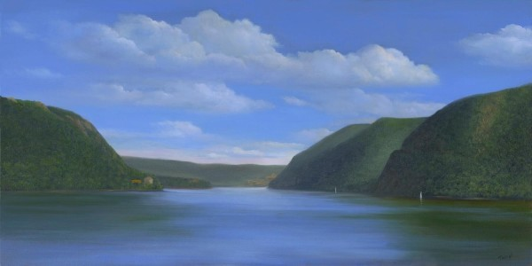 Southern View from Bannerman's Island by Tarryl Gabel