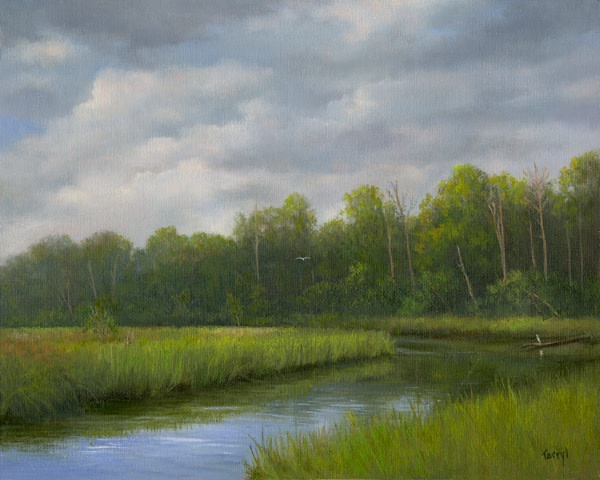 St. Augustine River by Tarryl Gabel
