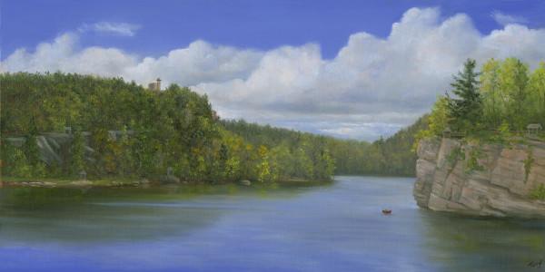 Mohonk Lake, spring by Tarryl Gabel
