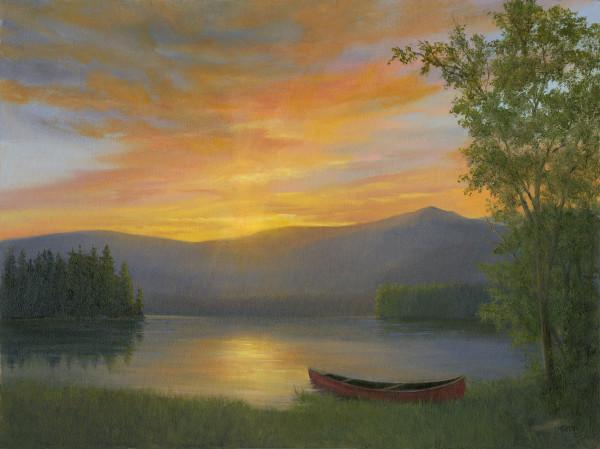 Adirondack Sunset by Tarryl Gabel