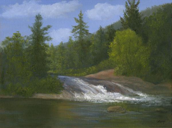 Bog River Falls by Tarryl Gabel