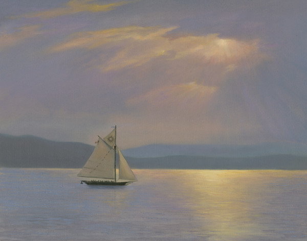 Clearwater sailing by Tarryl Gabel