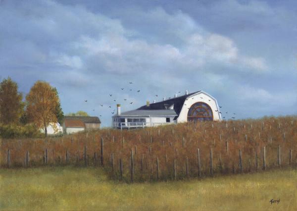 Fall in the Vinyard, Millbrook Winery by Tarryl Gabel