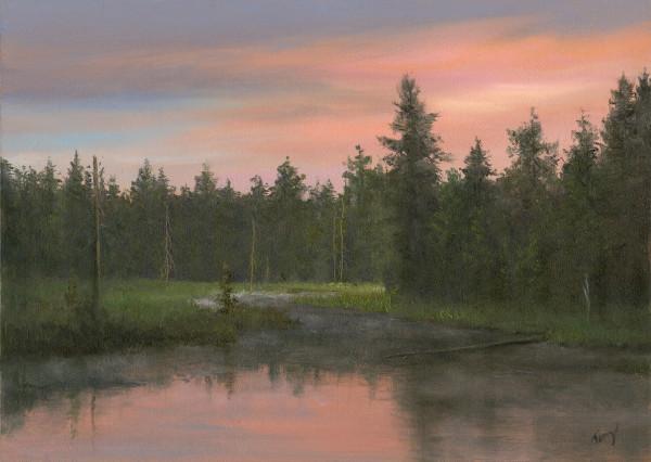 Adirondack Sunrise by Tarryl Gabel