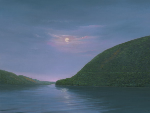 """Strawberry Moon, """"commissioned larger"""" by Tarryl Gabel"""
