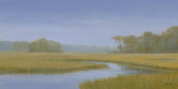 Misty Herring River by Tarryl Gabel