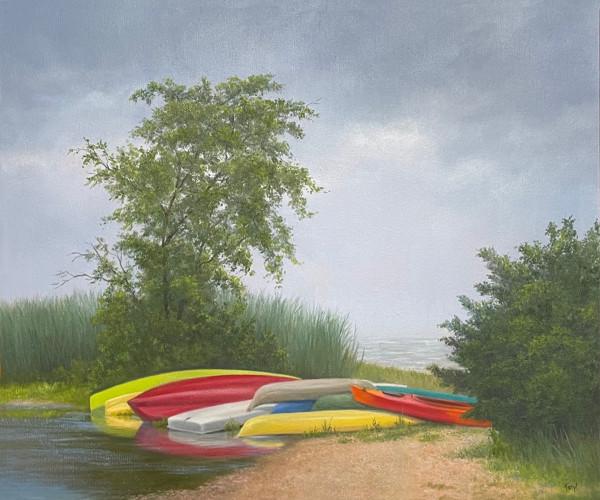 No Play on a Rainy Day, LBI by Tarryl Gabel