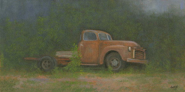 Rust and Rain, GMC by Tarryl Gabel