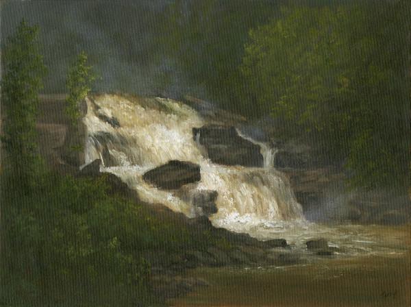 St. Regis Falls by Tarryl Gabel