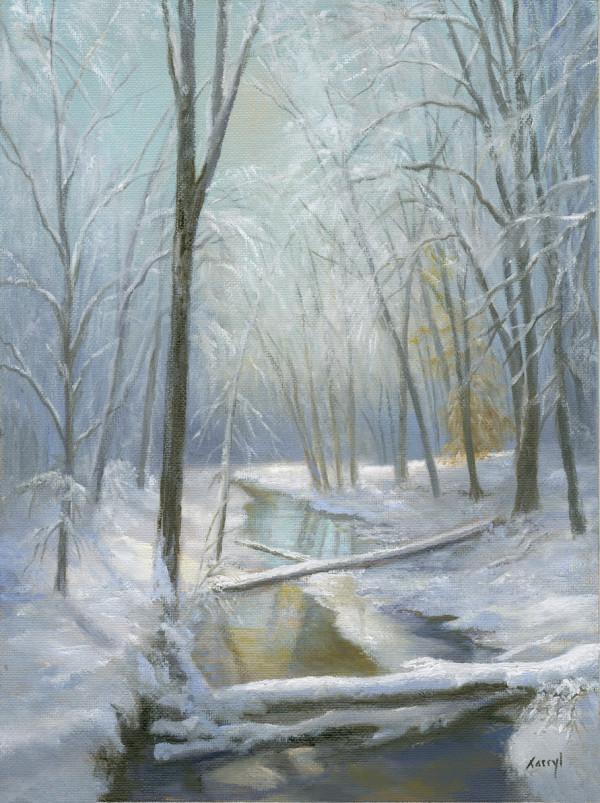 Winter Stream by Tarryl Gabel