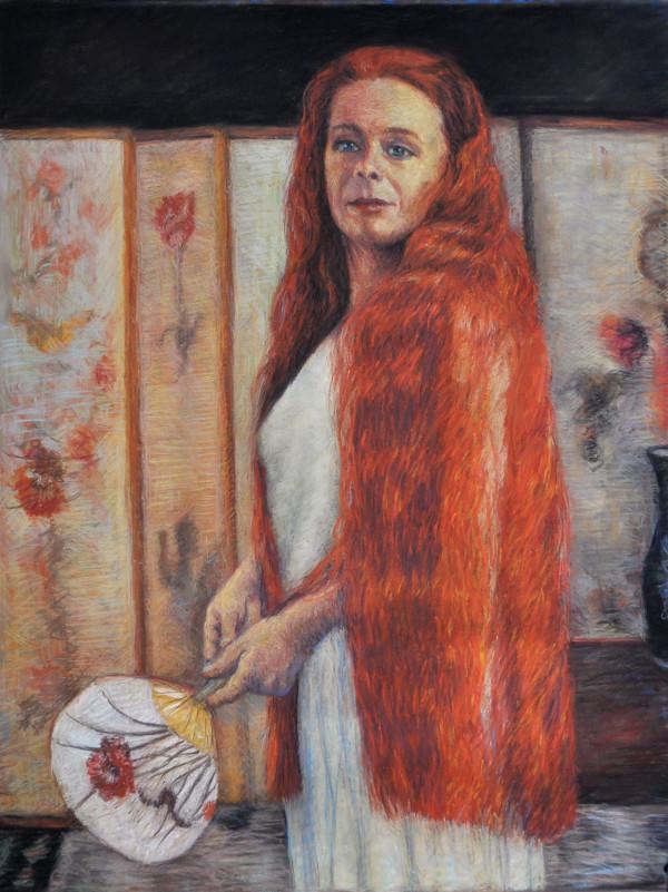 Carol Mendez in a Whistler by Merrilyn Duzy