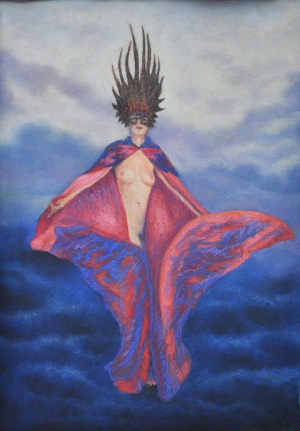 Angel Masked by Merrilyn Duzy