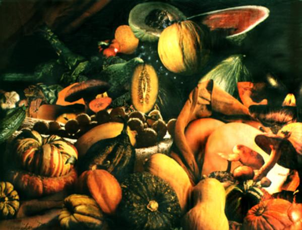 Autumn Feast (aka Autumn Harvest) by Merrilyn Duzy