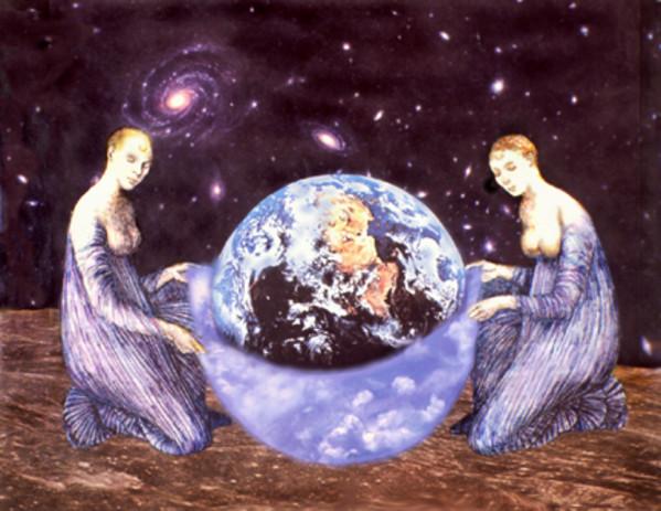 Birth of Gaia by Merrilyn Duzy