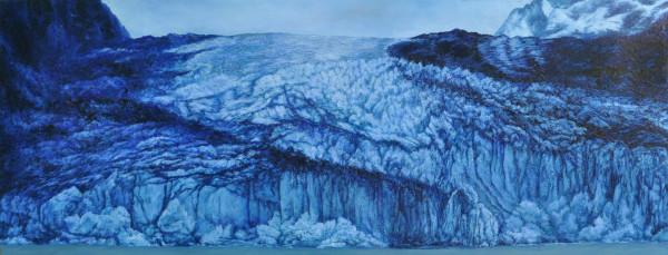 Blue Glacier by Merrilyn Duzy