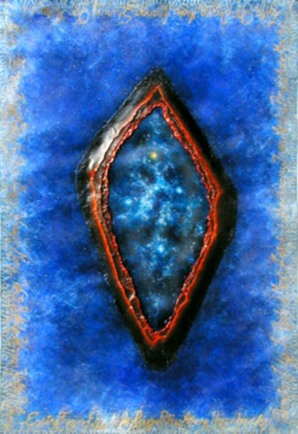 Cosmic Series #9 (Southern Cross) by Merrilyn Duzy
