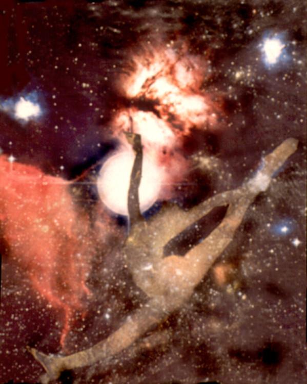 Cosmic Dance III by Merrilyn Duzy