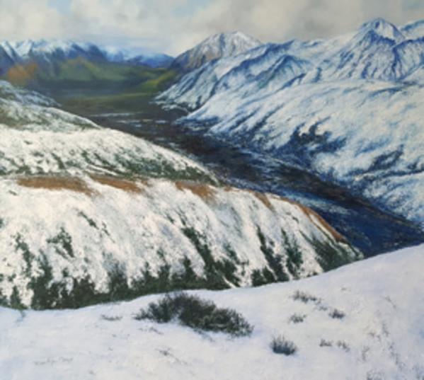 Denali in White by Merrilyn Duzy
