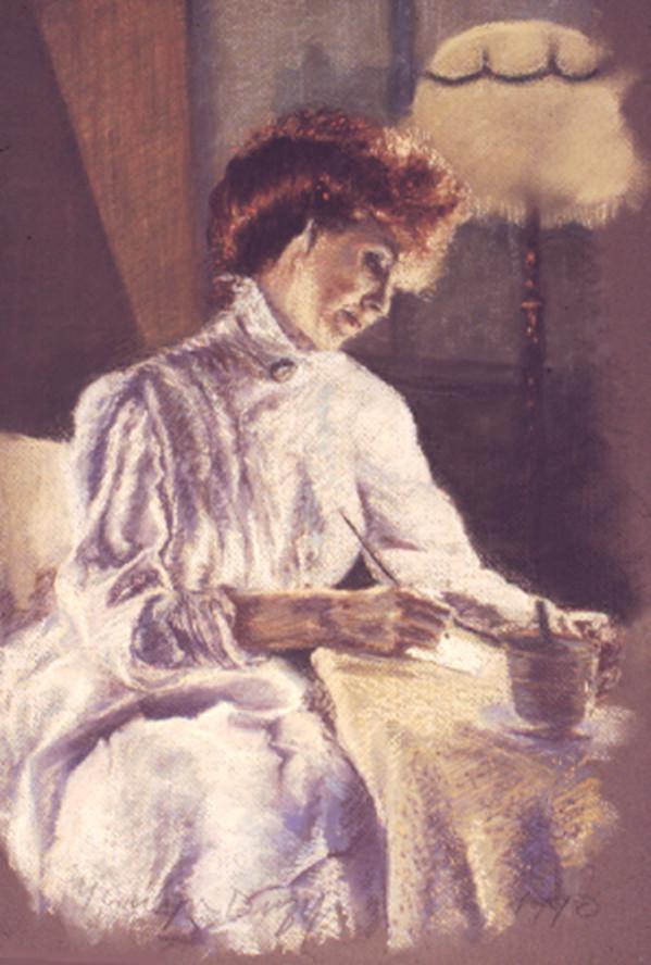 Dona Geib as Gwen John by Merrilyn Duzy